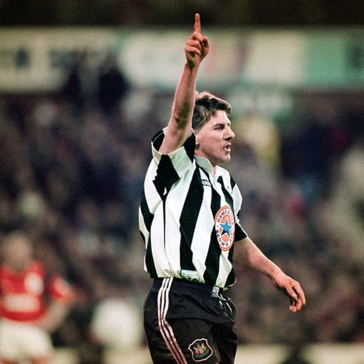 Peter Beardsley lit up Newcastle's side