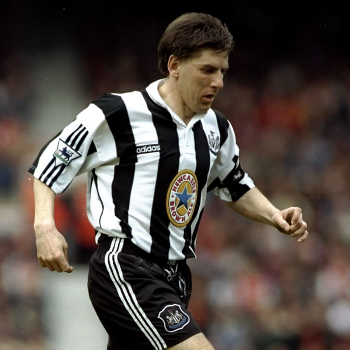 Peter Beardsley of Newcastle United