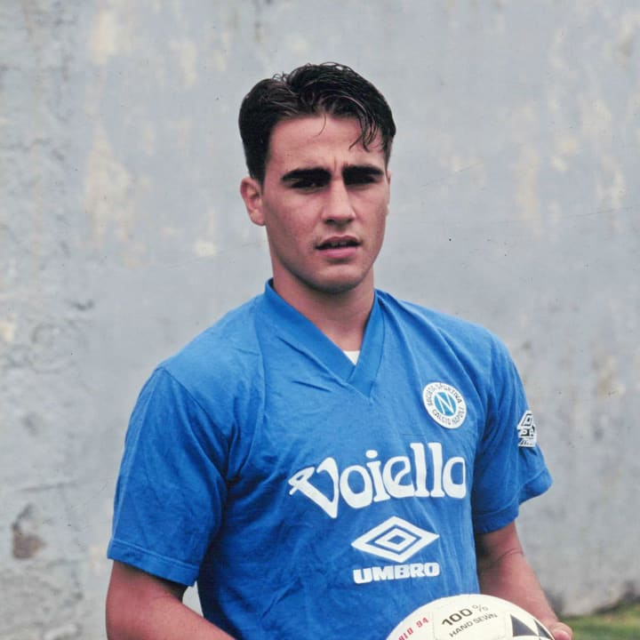 Fabio Cannavaro during the 1991/1992 season.