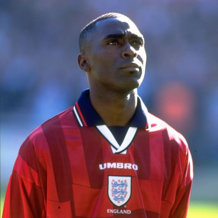 Andy Cole didn't win as many caps for England as he should have