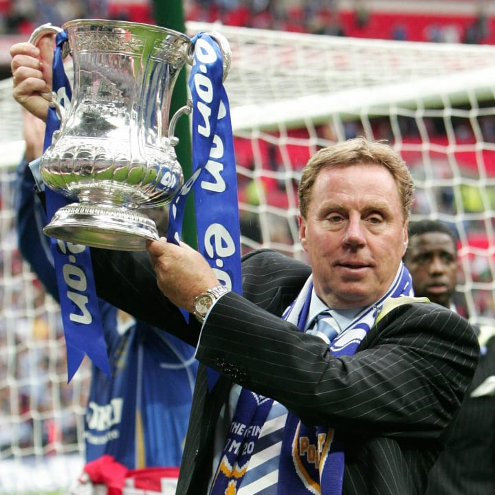 Harry Redknapp won the FA Cup in his second spell with Portsmouth