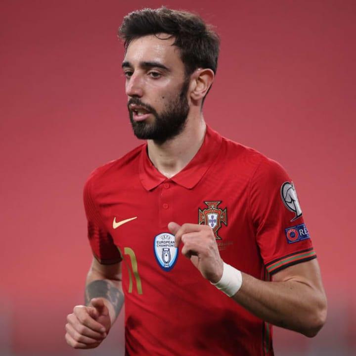 Bruno Fernandes wasn't part of Portugal's Euro 2016 side