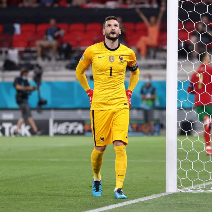 Hugo Lloris conceded a first-half penalty