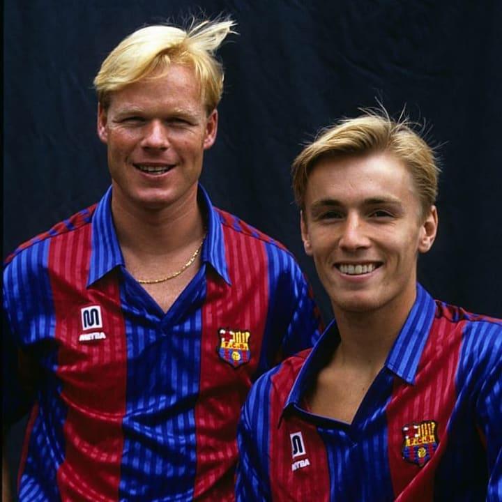 Koeman was a key member of the Barcelona 'Dream Team'