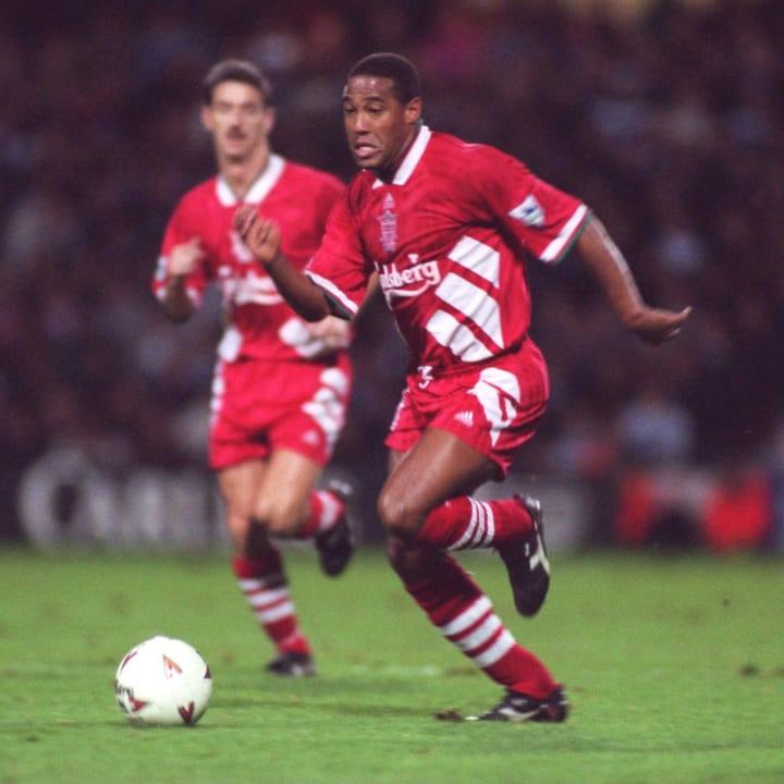 John Barnes at Liverpool in 1994