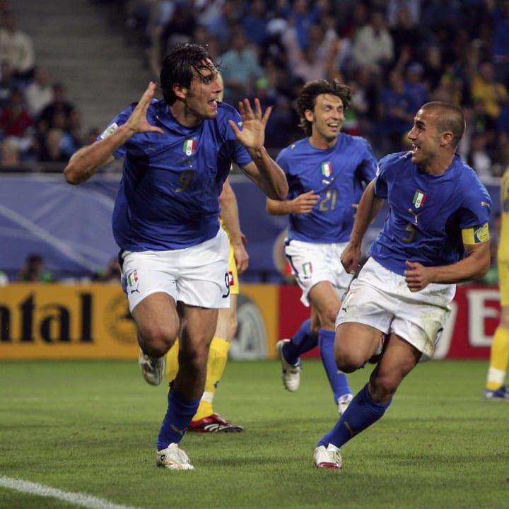 Luca Toni, Fabio Cannavaro