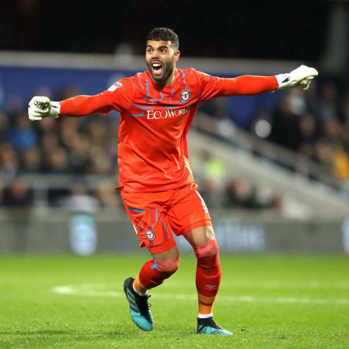 David Raya has excelled since moving to Brentford