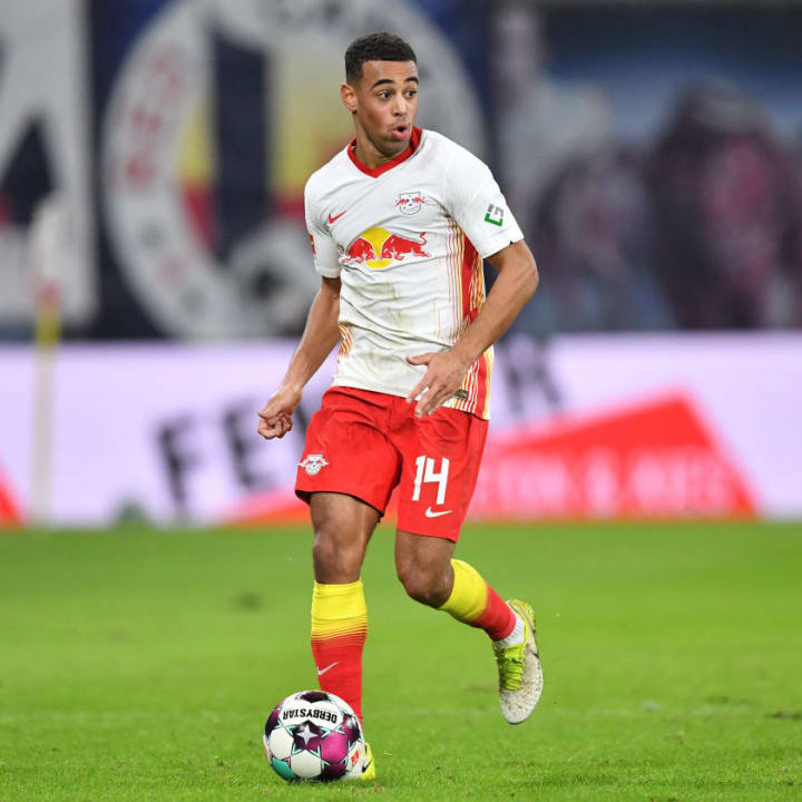Tyler Adams played 90 minutes of an RB Leipzig win