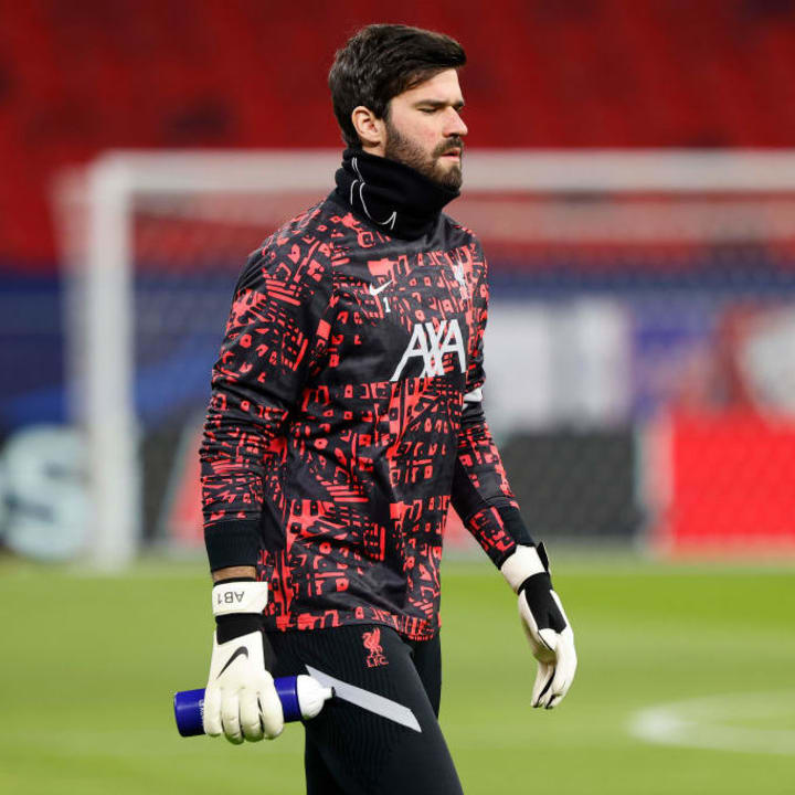 Alisson admits his father helped him become a goalkeeper