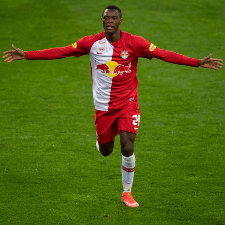 Patson Daka could be heading for the Premier League