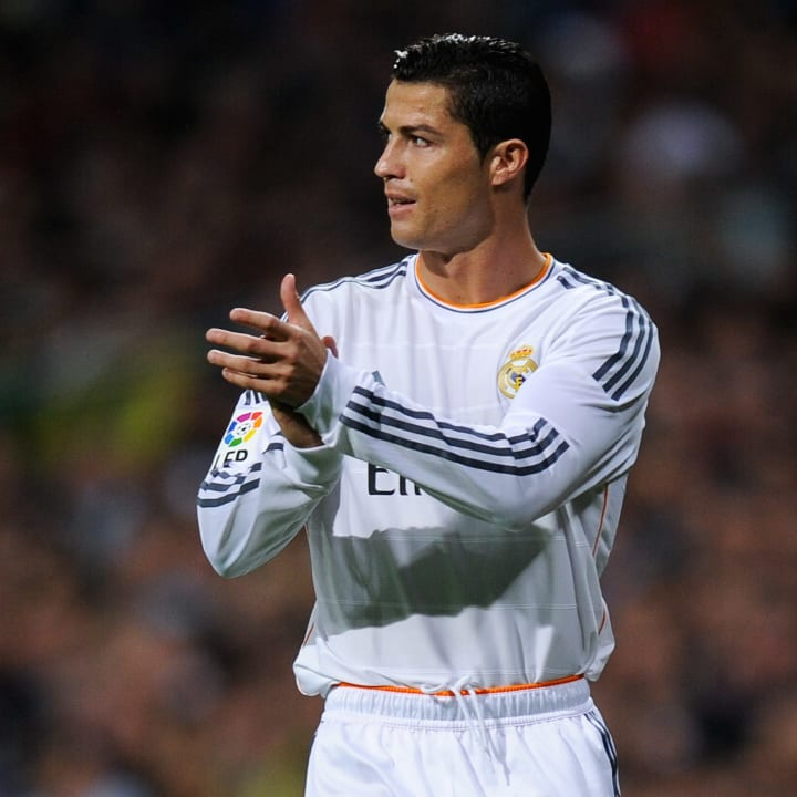 Ronaldo got to 150 La Liga goals in 2013