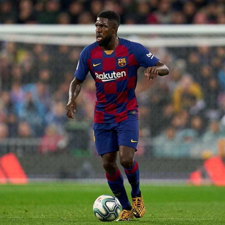 Barcelona are looking to replace Umtiti