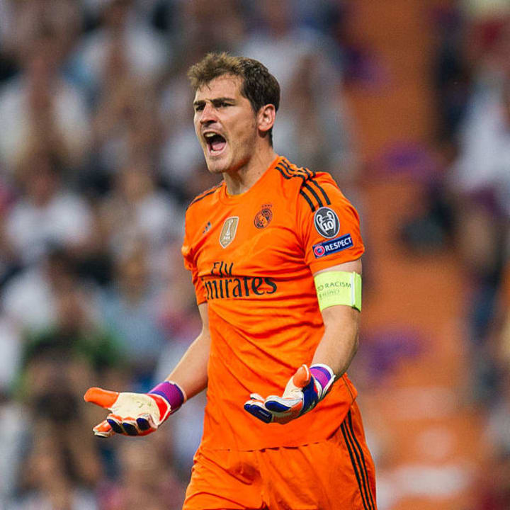 Long-time adversary Casillas is the gold standard