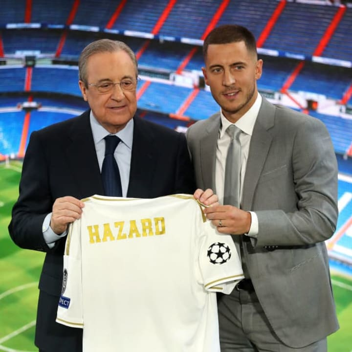 Eden Hazard, Florentino Perez