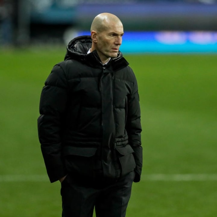 Zidane's job is under threat