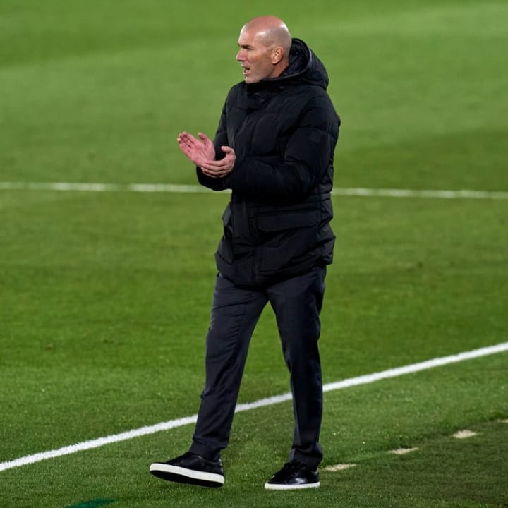 The immediate pressure on Zidane has lifted