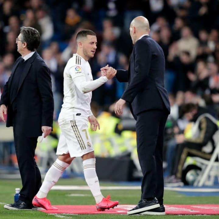 Hazard, Zinedine Zidane