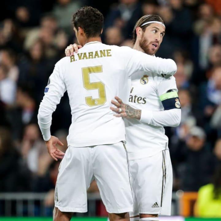 Raphaël Varane, Sergio Ramos