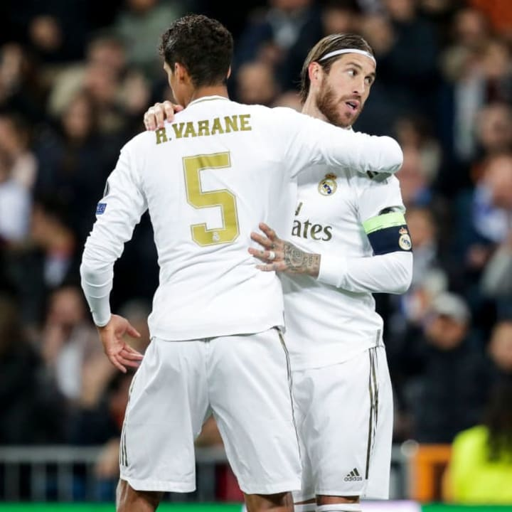 Kounde enjoys watching Varane and Ramos