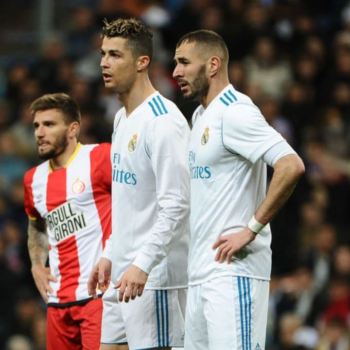 Many felt Ronaldo was carrying Benzema
