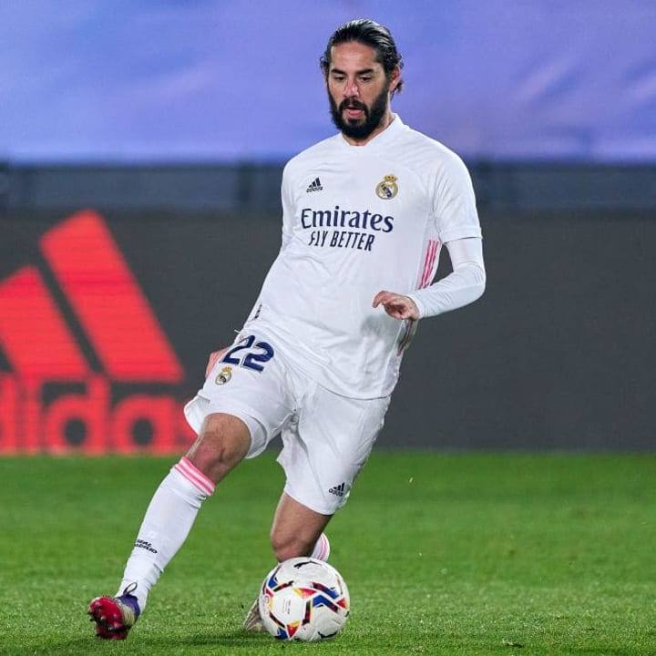 Isco may no longer be on the radar