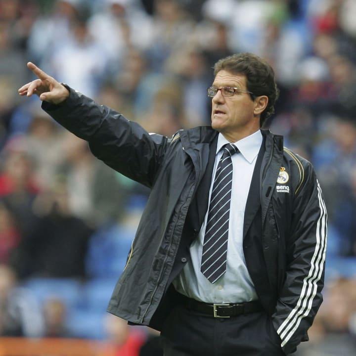 Fabio Capello returned to Real in 2006