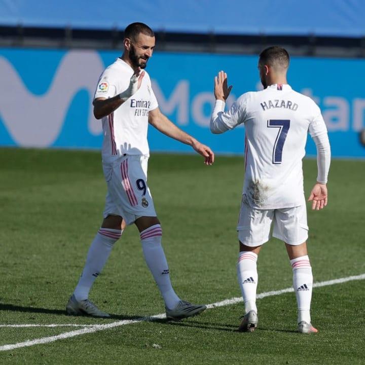 Eden Hazard, Karim Benzema