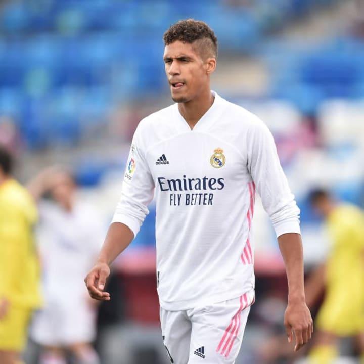Raphael Varane is no longer a Real Madrid player