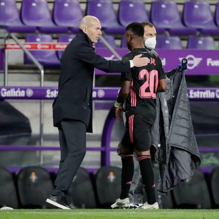 Zidane & Vinicius don't see eye to eye