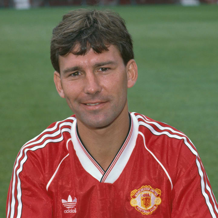 Bryan Robson was at his peak in the 1980s