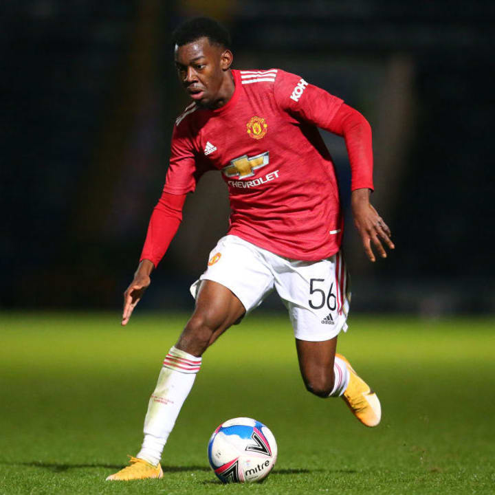 Elanga is the current Jimmy Murphy Young Player of the Year