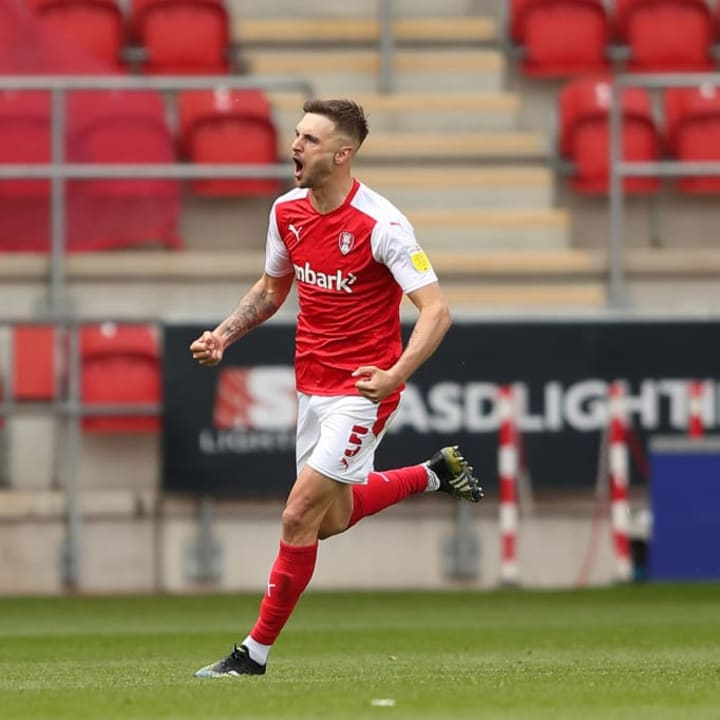Lewis Wing got a late equaliser for Rotherham