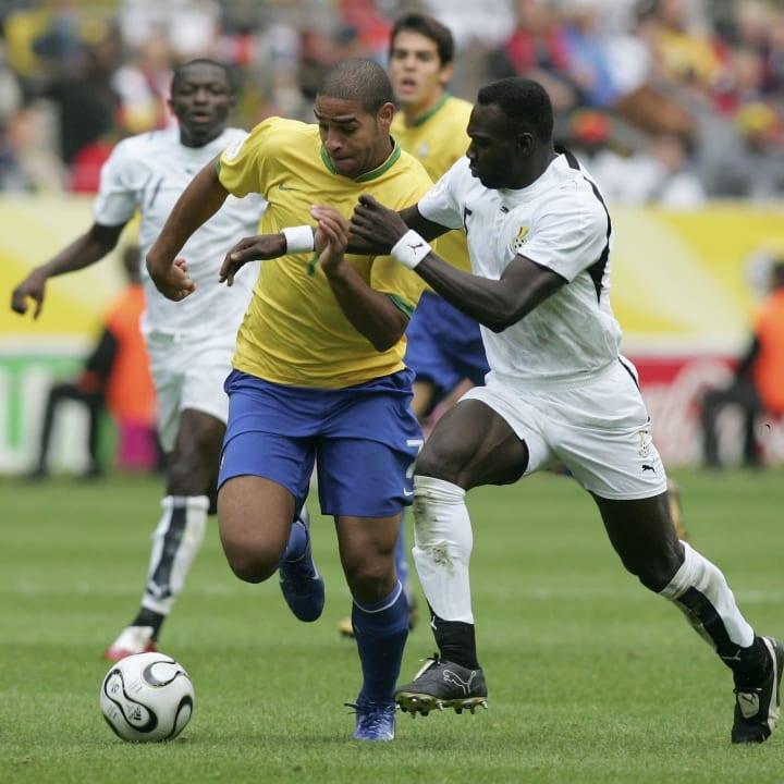 Adriano John Mensah Imperador Ronaldo Seleção Carreira