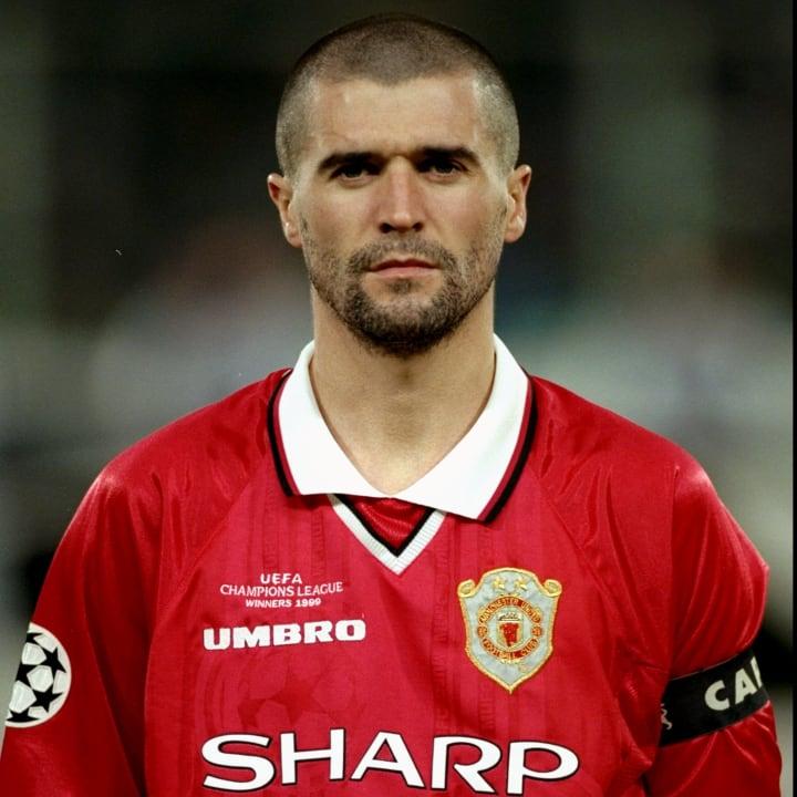 Roy Keane - Manchester United captain