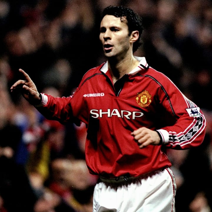 Ryan Giggs played a record 963 Man Utd games