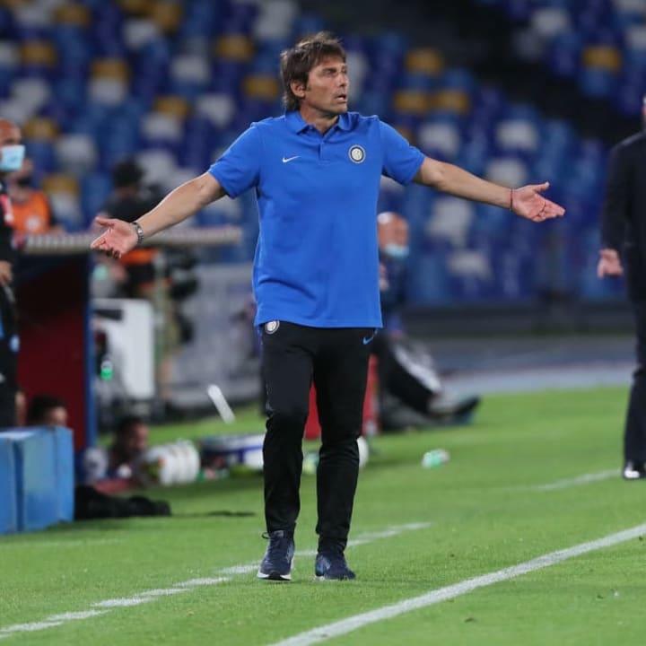 SCC Napoli v Internazionale
