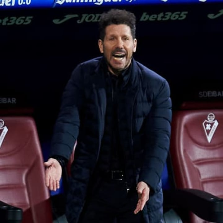 Simeone has had rotten luck with injuries this season