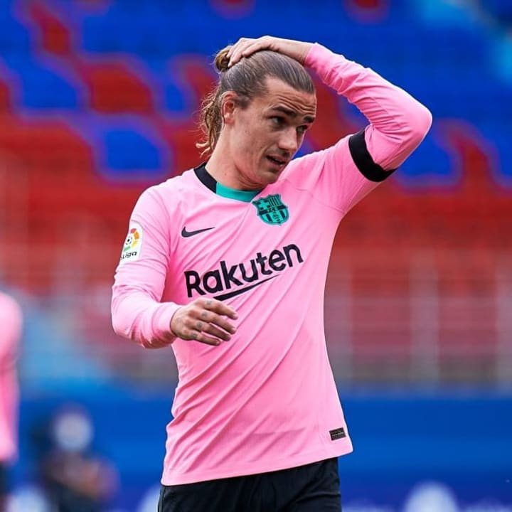 Antoine Griezmann hasn't quite lived up to expectations in Barcelona