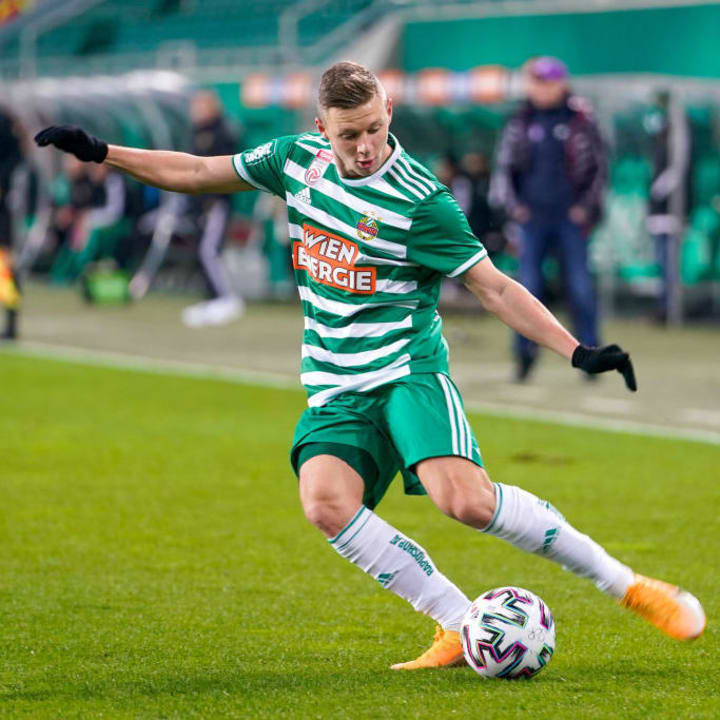 SK Rapid Wien will leave it all on the pitch at the Emirates