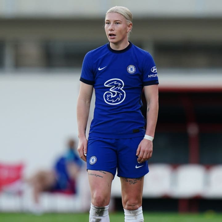 England has slipped down the pecking order at Chelsea since the arrivals of Sam Kerr & Pernille Harder