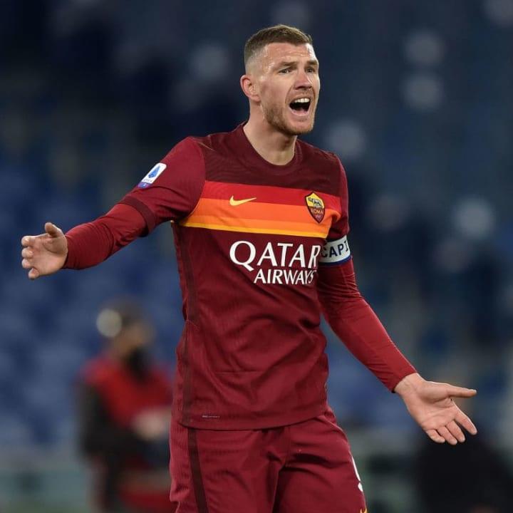 Dzeko is expected to leave Roma