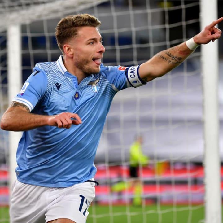 Immobile was instrumental in Lazio's win