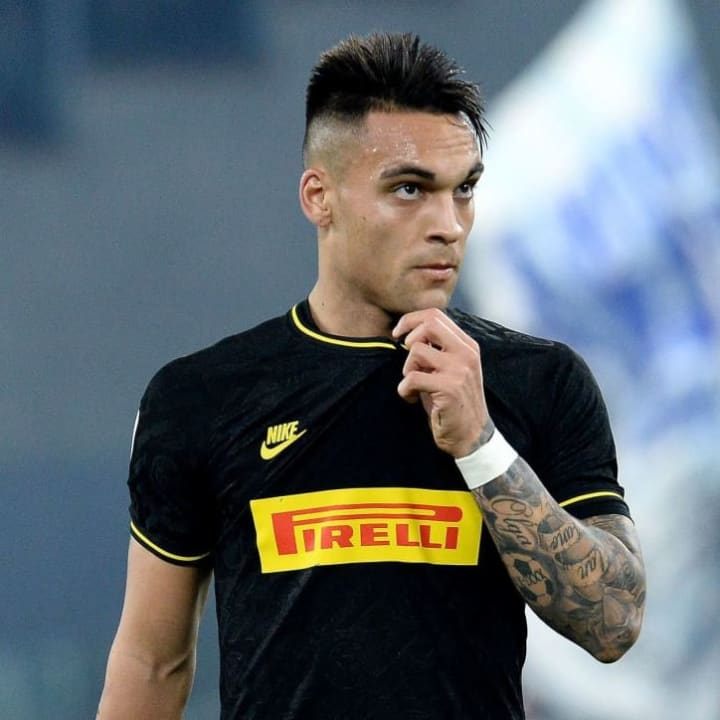 Barcelona are working to secure a deal for Inter's Lautaro Martinez