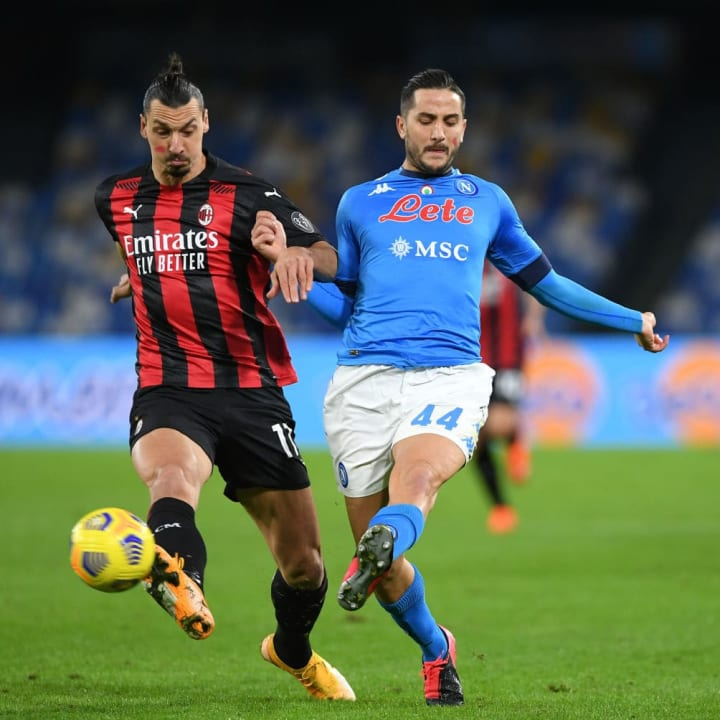 Napoli 1-3 Milan: Player Ratings as Rossoneri Return to Top of Serie A