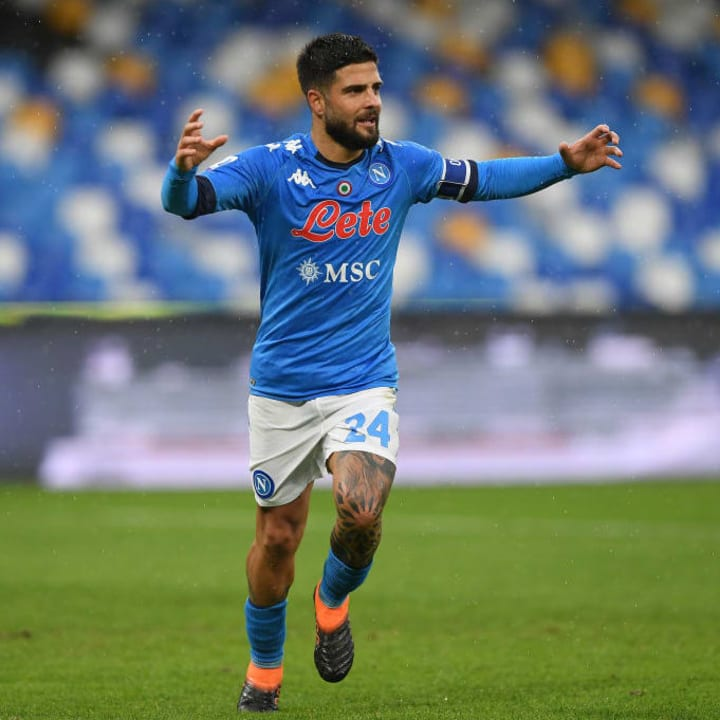 Insigne is in red-hot form