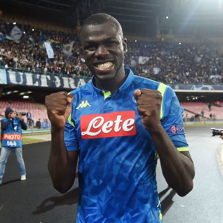 Koulibaly, the most wanted man in Europe....once upon a time