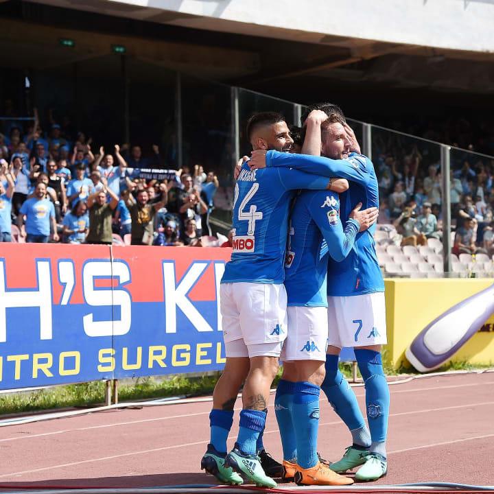 Sarri's Napoli won admirers for their style