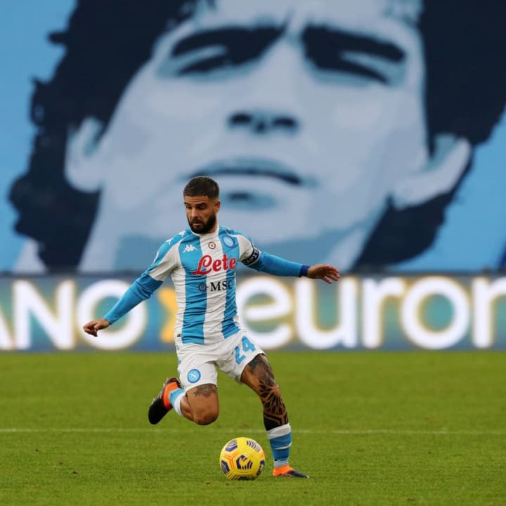 Insigne and Maradona