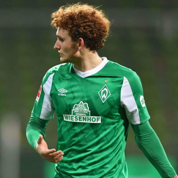 Josh Sargent scored Werder Bremen's winner