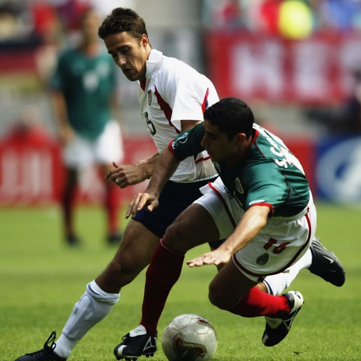Wolff played for the USMNT at the 2002 World Cup